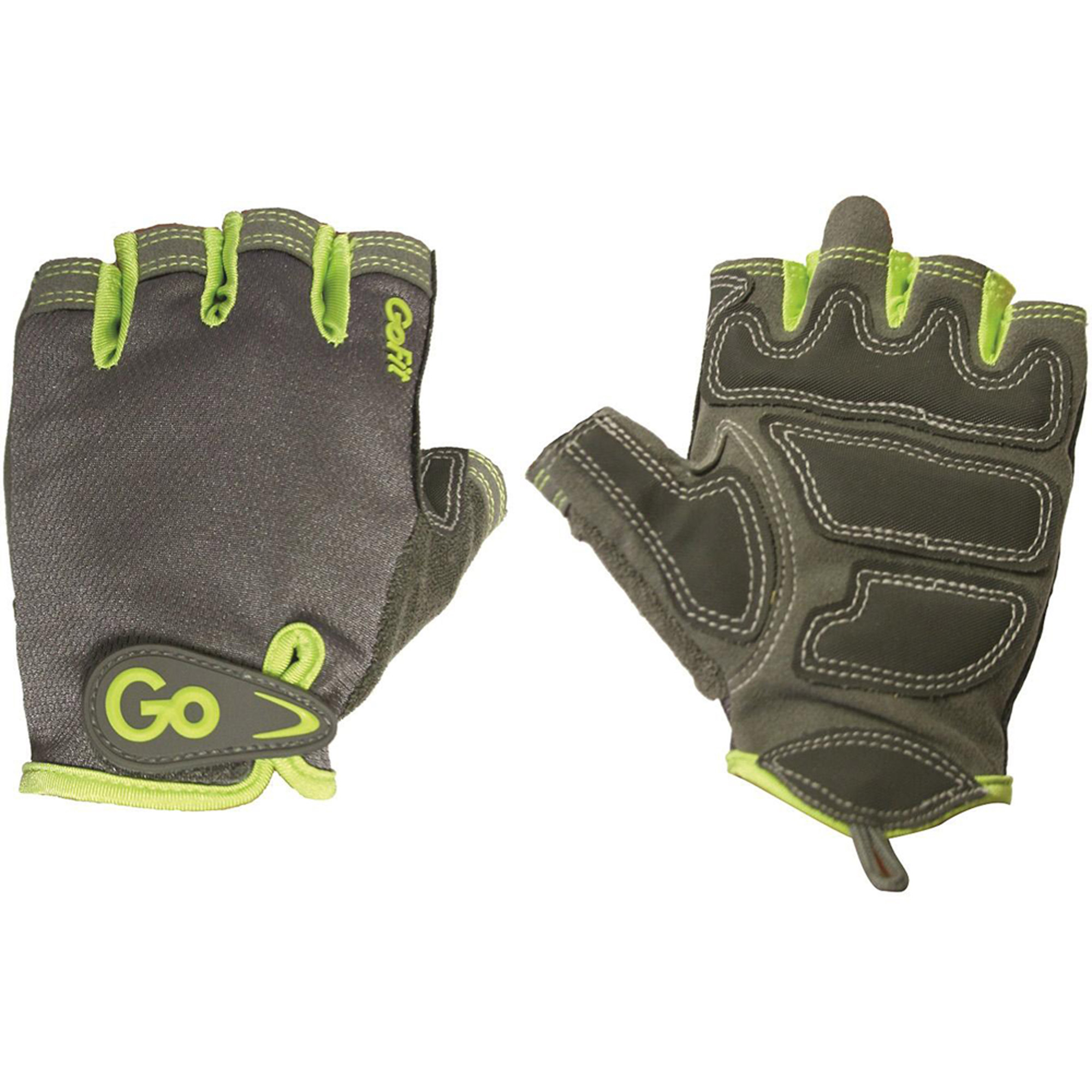 GoFit Women's Pro Sport-Tac Glove, Grey Green Accent by Gofit