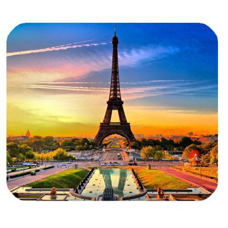 Popcreation Gorgeous Grand Scene Paris Eiffel Tower Mouse Pads Gaming Pad 9 84x7 87