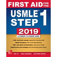 First Aid for the USMLE Step 1 2019, Twenty-Ninth Edition (Paperback)