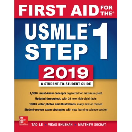 First Aid for the USMLE Step 1 2019, Twenty-Ninth (En013 1st Edition)