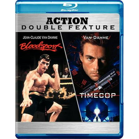 Bloodsport / Timecop (Blu-ray) (Steve Denim)