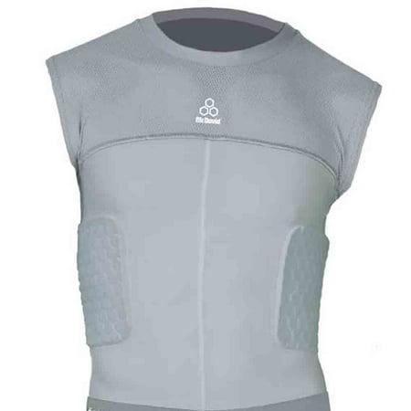 McDavid Classic 7910 Y 3 Pad Body Shirt Grey Youth Medium