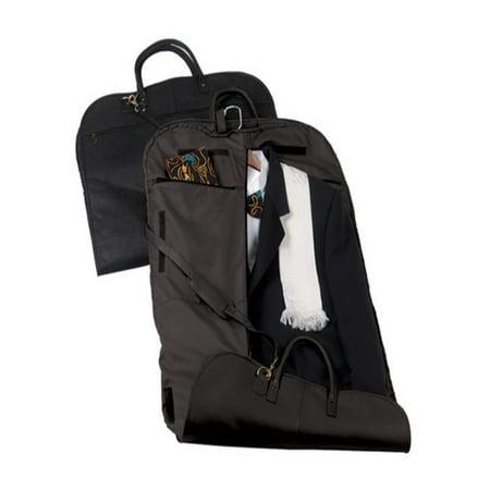 Garment Bag Travel Luggage in Genuine Leather