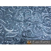 """Sequin Fabric Breeze SILVER / 52"""" Wide / Sold by the Yard"""