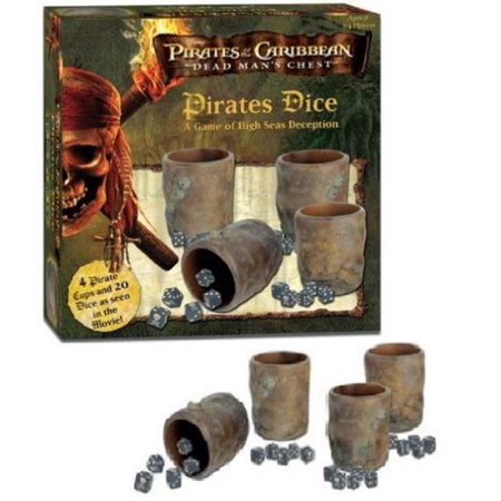 Pirates of the Caribbean - Dead Man's Chest - Pirate's Dice - Three Man Dice