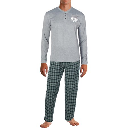Ecko Unltd. Mens Flannel Two Piece Pajama Gift