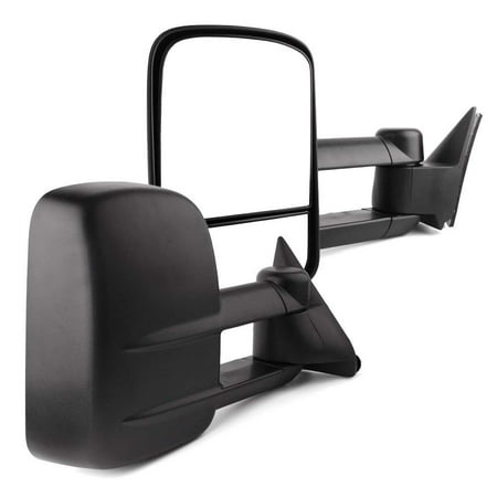 YITAMOTOR Towing Mirrors for Chevy GMC, Power Manual Telescoping Folding Tow Mirrors, for 1988-1998 Chevy GMC C/K 1500 2500 3500, 1992-1999 Suburban 1500 2500, 2000 Chevy Tahoe GMC Yukon V8 5.7L 06 Chevy Suburban Manual