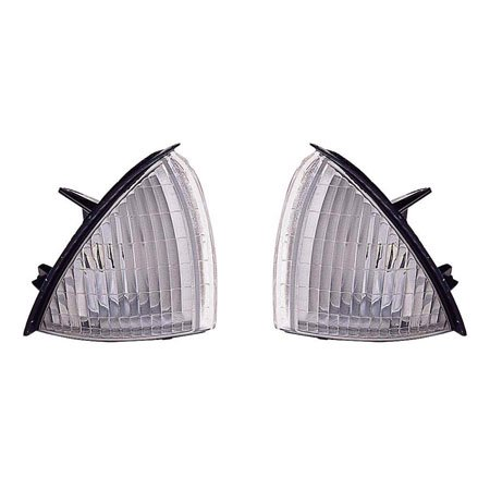 For Oldsmobile Achieva 1992-1998 Side Marker Light Assembly Unit Pair Driver and Passenger Side Oldsmobile Achieva Driver