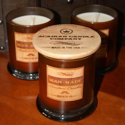 Acadian Candle Black Onyx Jar Candle