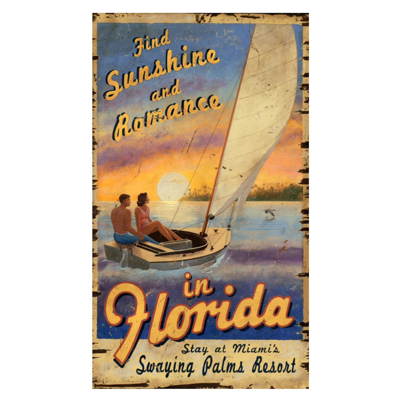 Sailing Florida Wall Art