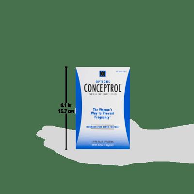 Options Conceptrol Vaginal Contraceptive Gel Applicators 10 Ct Walmart Com Walmart Com