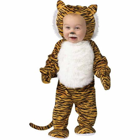 Cuddly Tiger Infant Halloween Costume