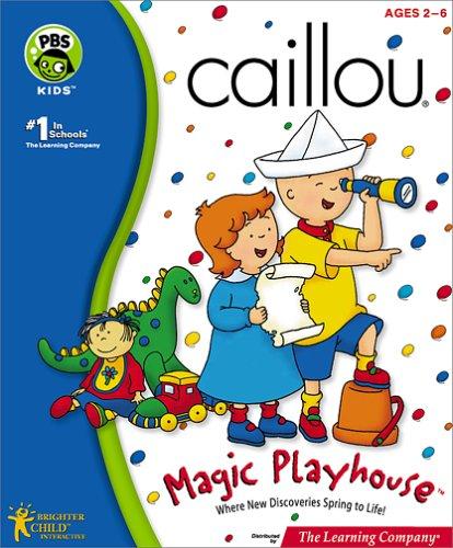Caillou Magic Playhouse