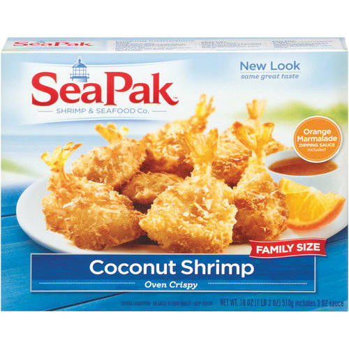 SeaPak(tm) Family Size Coconut Shrimp, 18 oz