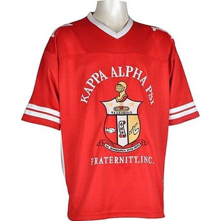 Kappa Alpha Psi Fraternity, Inc. Mens Football Jersey [Red -
