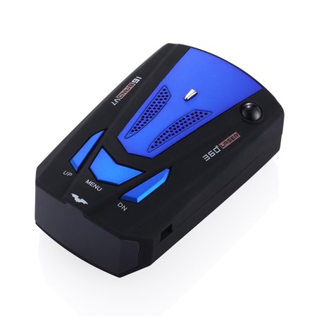 360 Degree Car 16 Band V7 Laser Radar Detector GPS Speed Safety Radar Detector Voice Alert (Best Undetectable Radar Detector)