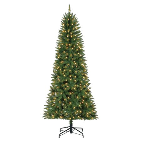 Evergreen Classics 7 Foot Lansing Pre Lit Led Artificial