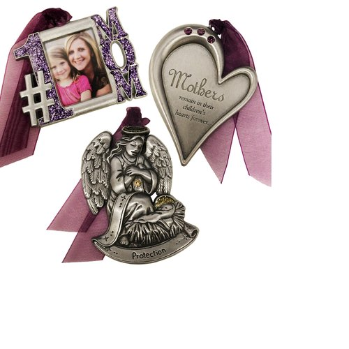 Gloria Duchin 3pc Mother Ornament Set