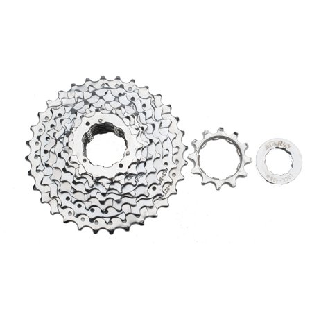 SunRun Seven Speed Cassette 12-32T, Chrome