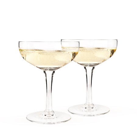 Old Kentucky Home - Glass Champagne Coupe Set by - Champagne Coupe Glasses