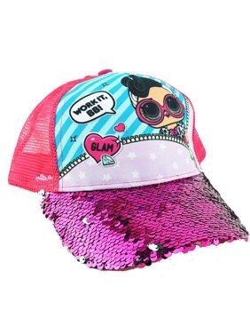 Product Image LOL Surprise Hat Glam Magic Sequin Girls Baseball Cap Work  It 4ffa7f8ff63