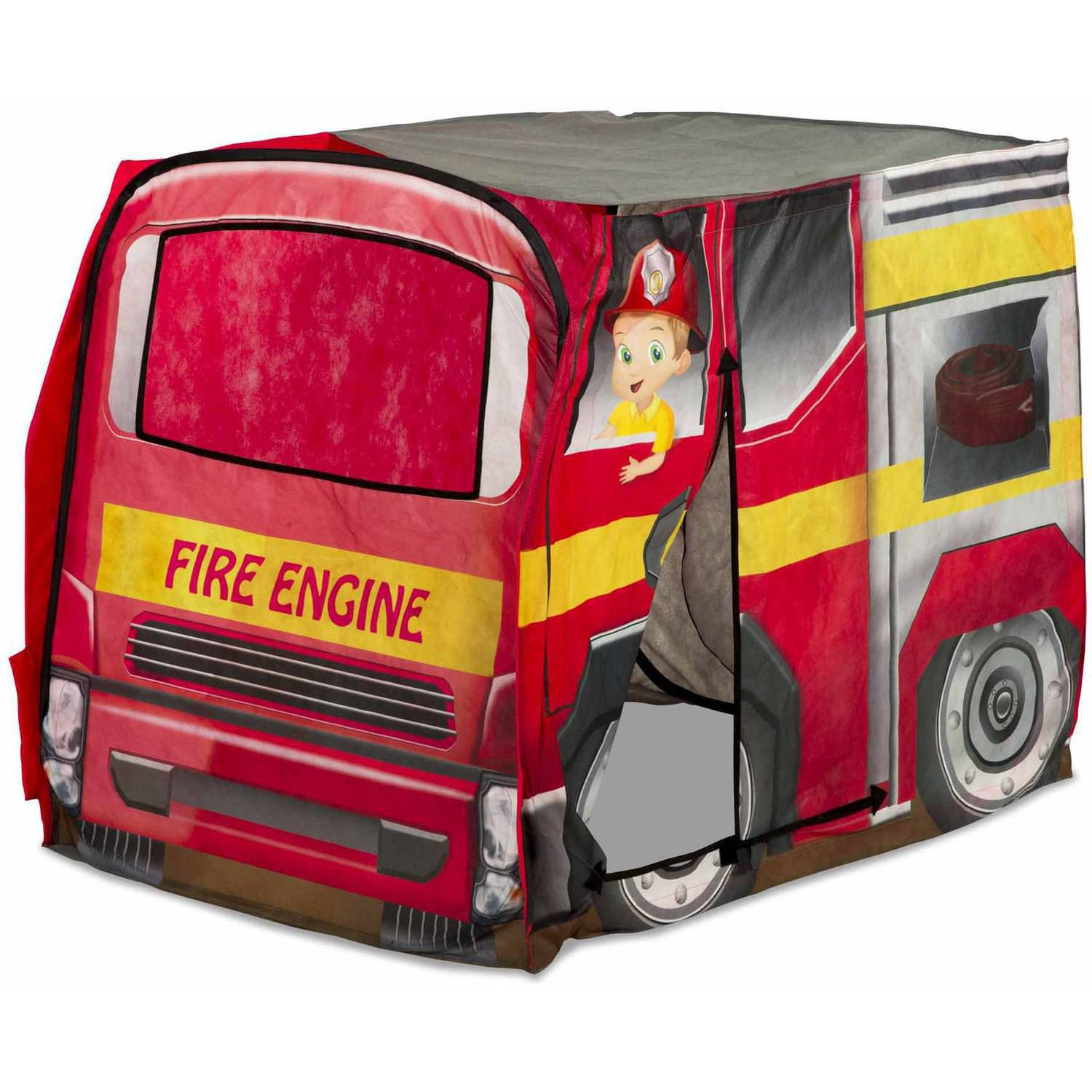 Playhut Fire Engine Pop-Up Tent