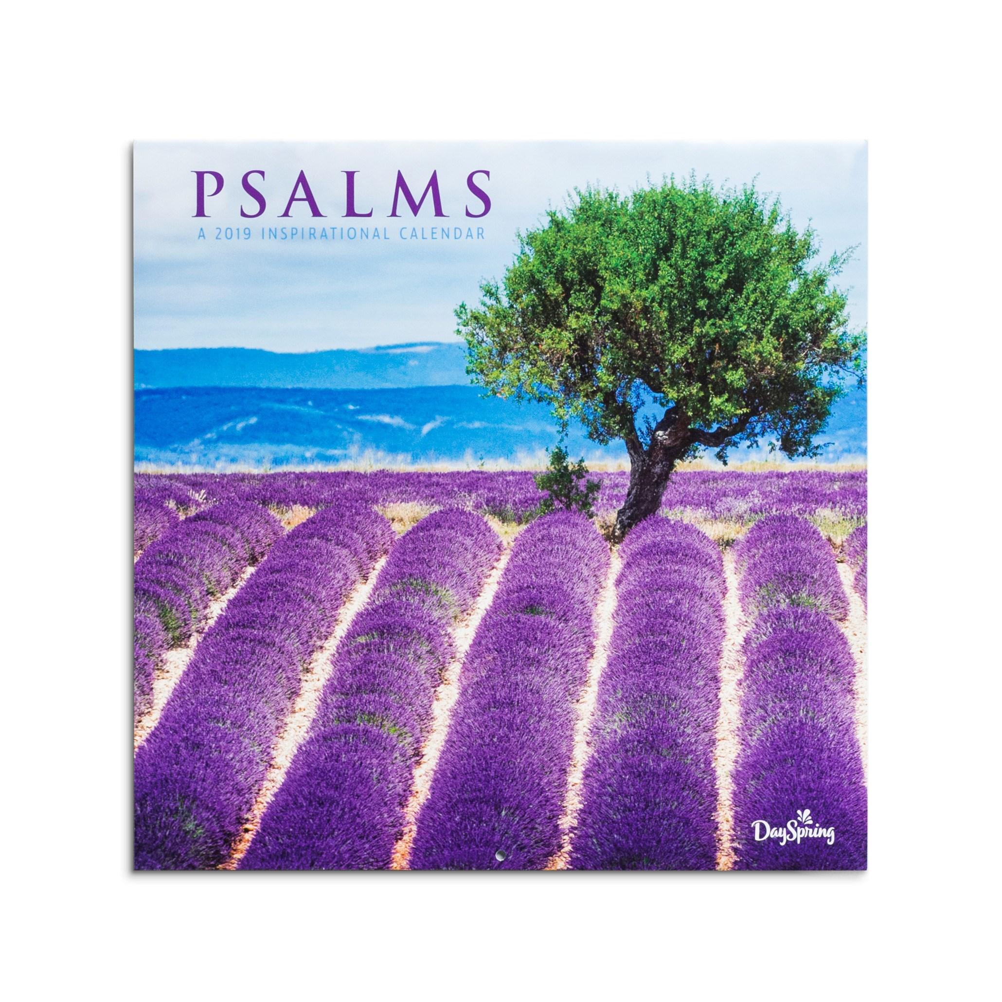 DaySpring  -  DaySpring - Psalms, Fields - 2019 Wall Calendar
