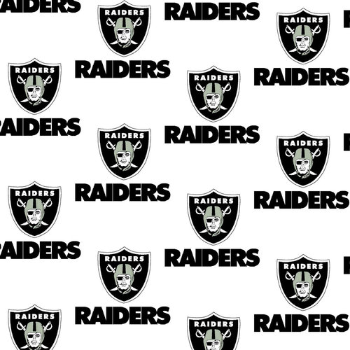 NFL Oakland Raiders Cotton Fabric