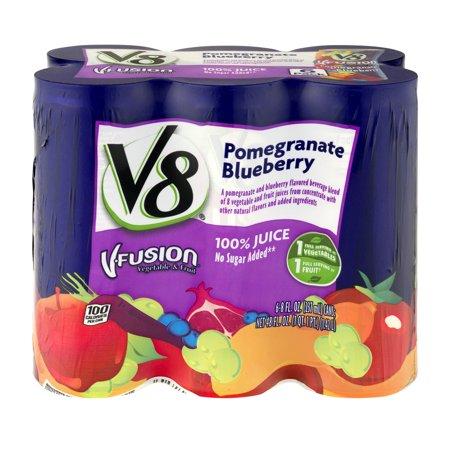 V8 V Fusion Pomegranate Blueberry   6 Pk  8 0 Fl Oz