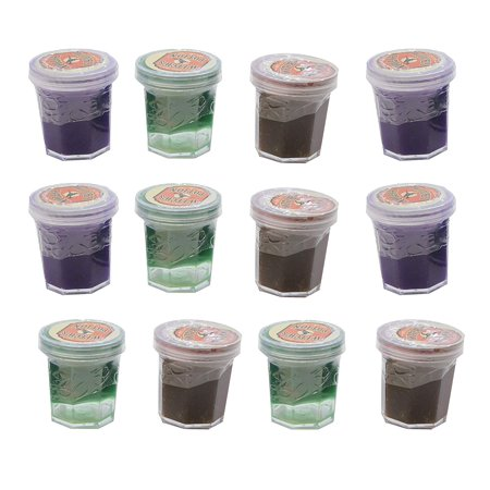 12 Witch's Potion - Mini Slime Containers for Halloween Goody Bags - Trick or Treat