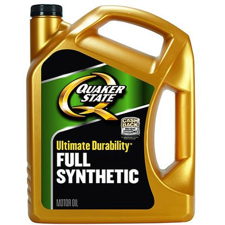 Quaker State Full Synthetic Motor Oil 5 Qt After Rebate