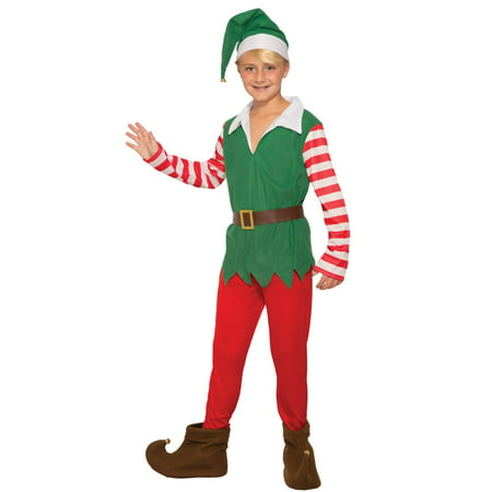 Childrens Santa's Helper Costume - Childrens Place Costumes