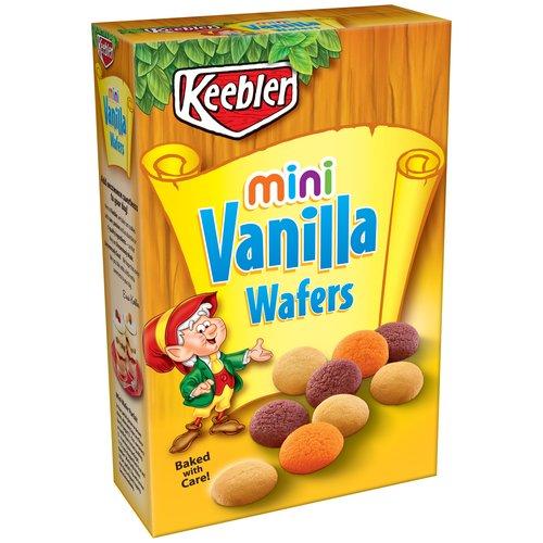 Keebler Mini Vanilla Wafers Cookies, 12 oz