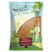 Organic Golden Flaxseed, 5 Pounds – Whole, Non-GMO, Kosher, Raw, Vegan, Bulk – by Food to Live
