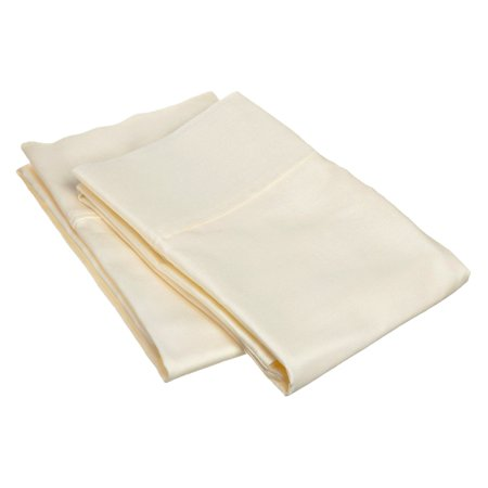 400 Tc 100% Cotton Pillowcases (Superior 400 Thread Count 100% Premium Quality Cotton Solid Pillow Case Set)