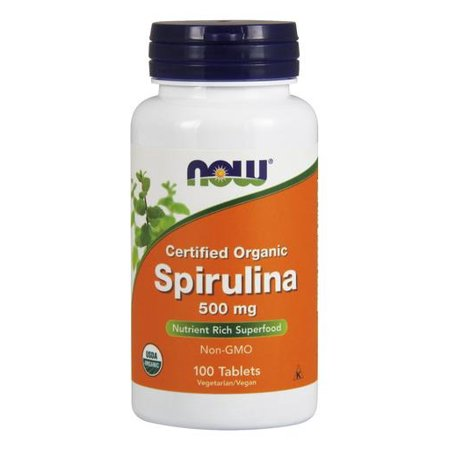 Spiruline 500mg NOW Foods 100 Tabs