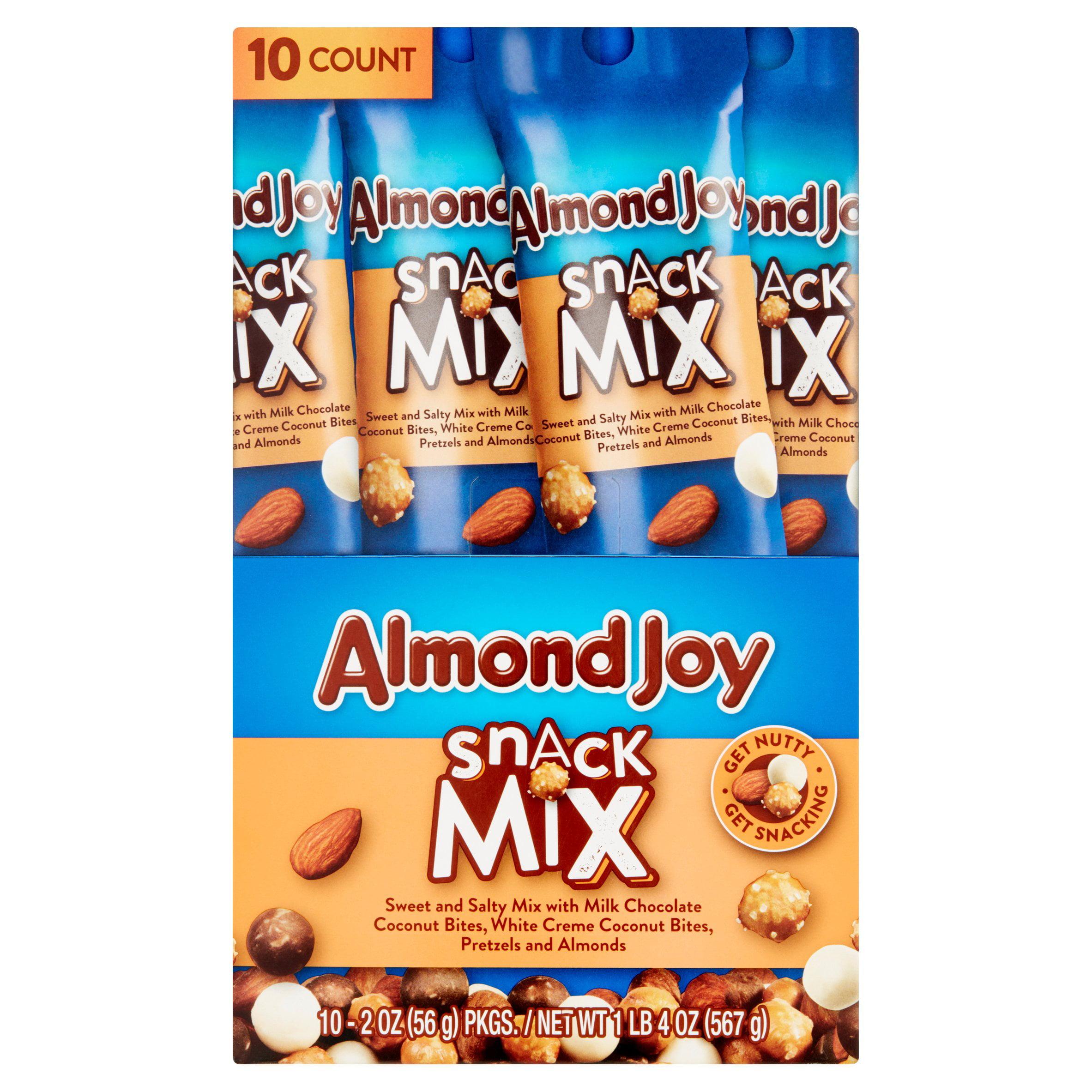 Almond Joy Snack Mix, 2 Oz, 10 Ct