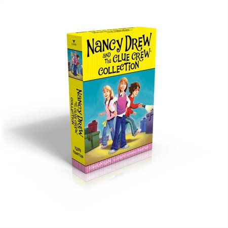 The Nancy Drew and the Clue Crew Collection: Sleepover Sleuths; Scream for Ice Cream; Pony Problems; The Cinderella Ballet Mystery; Case of the Sneaky Sno (Paperback) Ice Cream Lovers Collection