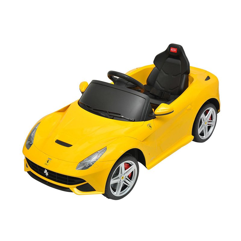 Best Ride on Cars Ferrari F12 - Yellow