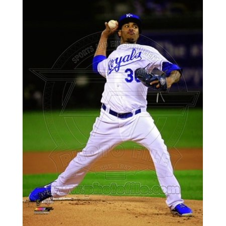 Yordano Ventura Game 2 of the 2014 World Series Action Sports Photo