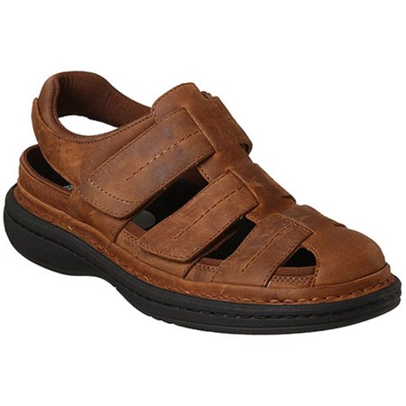 Men's Propet RESORT Fisherman Sandals BROWN 9 (5E)