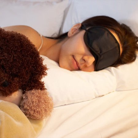 Eye Mask Comfortable Sleeping Mask for Rest Relax Travelling - image 3 of 8