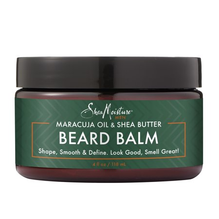 - Maracuja Oil & Shea Butter Beard Balm Shape-Smooth & Define