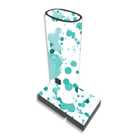 Skin For Ploom Pax Vaporizer – Teal Splatter | MightySkins Protective, Durable, and Unique Vinyl Decal wrap cover | Easy To Apply, Remove, and Change Styles | Made in the USA