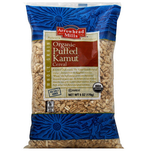 Arrowhead Mills Puffed Kamut Cereal, 170 g  (Pack of 12)