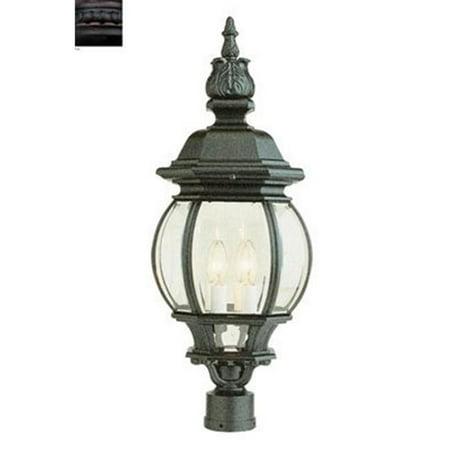 Trans Global Lighting 4062 Rt Clic 4 Light Outdoor Post