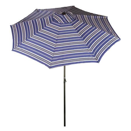 Bliss Hammocks 9 ft. Market Umbrella Aluminum with Crank & Tilt ()