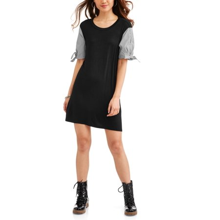 Juniors' Puffy Sleeve Dress - Puffy Dresses For Halloween