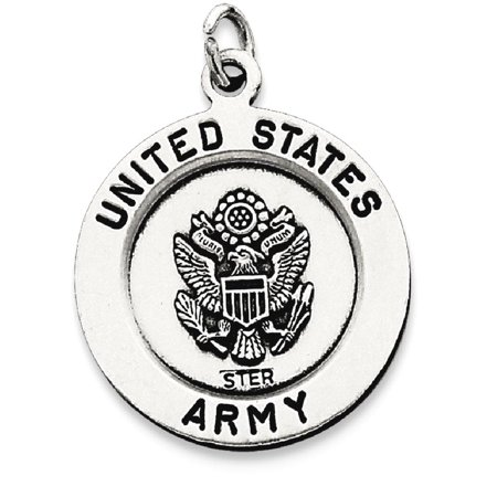 (ICE CARATS 925 Sterling Silver Saint Michael Army Medal Pendant Charm Necklace Military Religious Patron St Fine Jewelry Ideal Gifts For Women Gift Set From Heart)