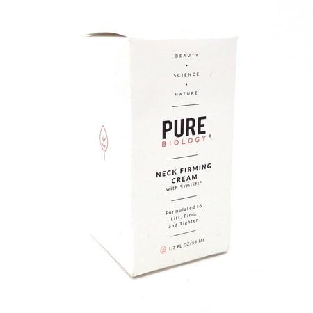Pure Biology Neck Cream w Clinically Studied SymLift - 1.7 Fl Oz